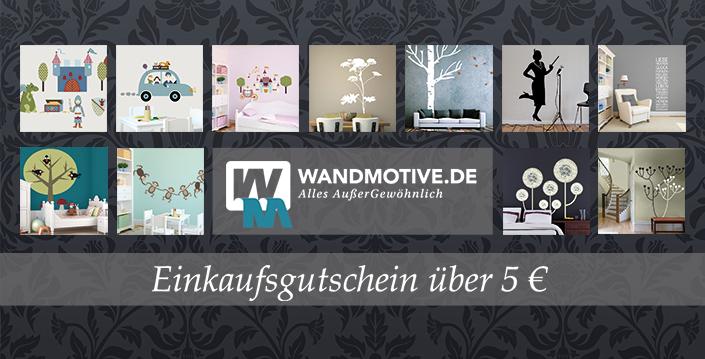 Einkaufsgutschein für Wandmotive.de